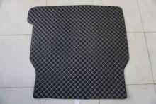Коврик в багажник, GT LUX, кожа черная
