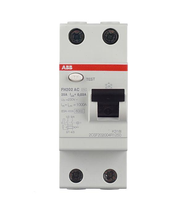 Устройство защитного отключения ABB F202 ELC2CSF202001R1630