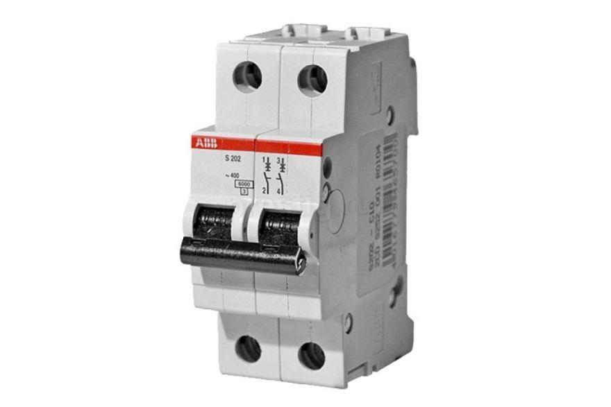 Автоматический выключатель ABB S202 STOS202C16