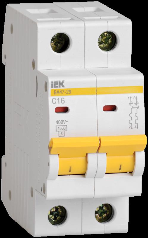 Автоматический выключатель IEK MVA20-2-001-B