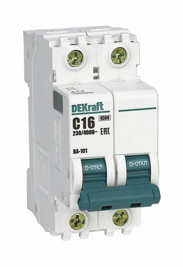 Schneider Electric DEKraft автоматический выкл. ВА-101 3P 32А 4,5kA х-ка С 11081DEK