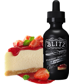 Е-жидкость Blitz №1 Strawberry cream cake, 60 мл.