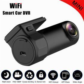 Автомобильный видеорегистратор с функцией Wi-fi