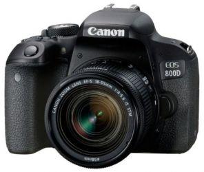 Зеркальный фотоаппарат Canon EOS 800D kit 18-135mm stm