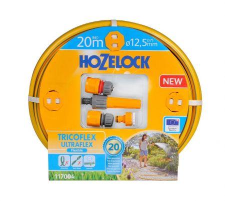 НАБОР ДЛЯ ПОЛИВА HoZelock TRICOFLEX ULTRAFLEX STARTER SET 12,5 мм 20 м
