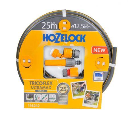 НАБОР ДЛЯ ПОЛИВА HoZelock 116242 TRICOFLEX ULTRAMAX STARTER SET 12.5 мм 25 м.