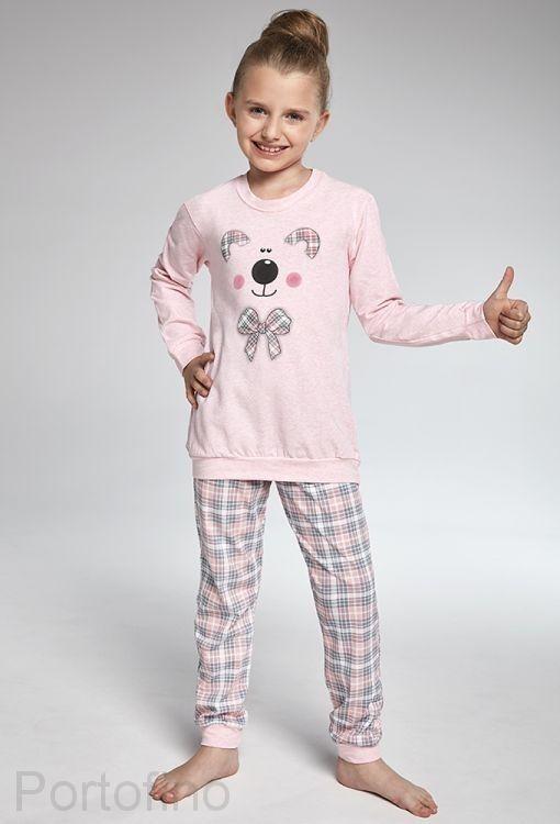 592-96 Пижама для девочек длинный рукав Cornette