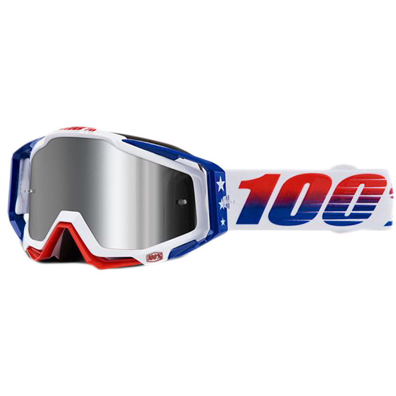 100% - Racecraft Plus LE MXDN Silver Mirrored Lens, очки