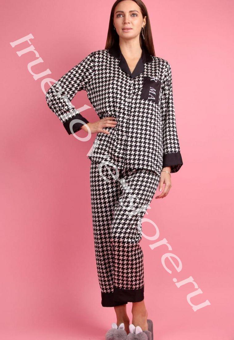 5023-11- Цена за 2 шт, Пижама двойка   (L,XL)