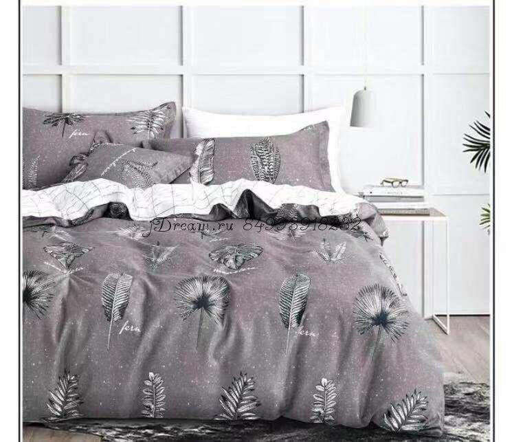 """Комплект постельного белья на резинке Candi`s """"Feathers"""""""