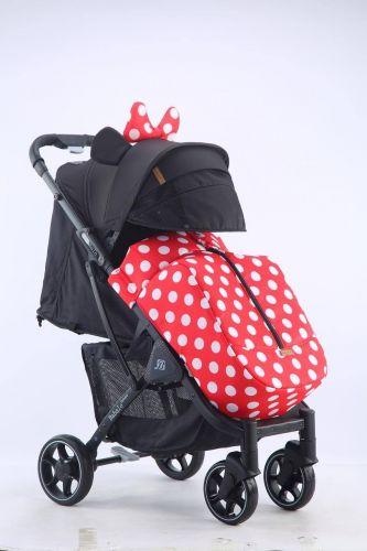 Бабало 2021, Babalo future Минни Маус на темной раме с рюкзаком
