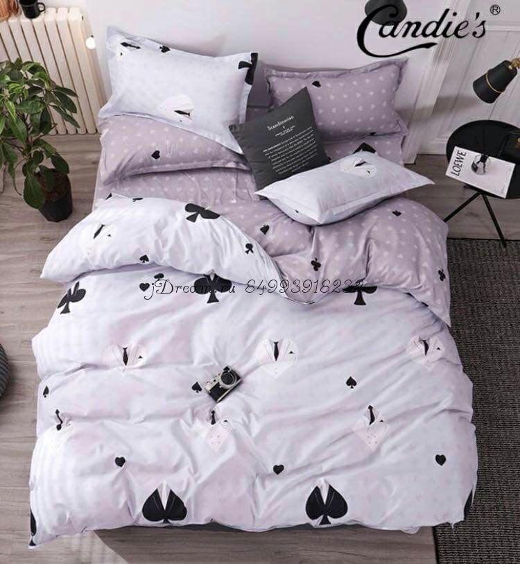 """Комплект постельного белья на резинке Candi`s """"Hearts"""""""