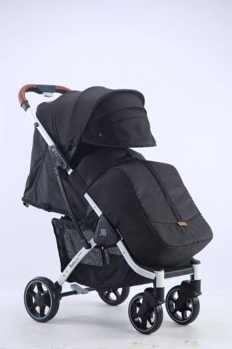 Бабало 2021, Babalo future черная на белой раме с рюкзаком