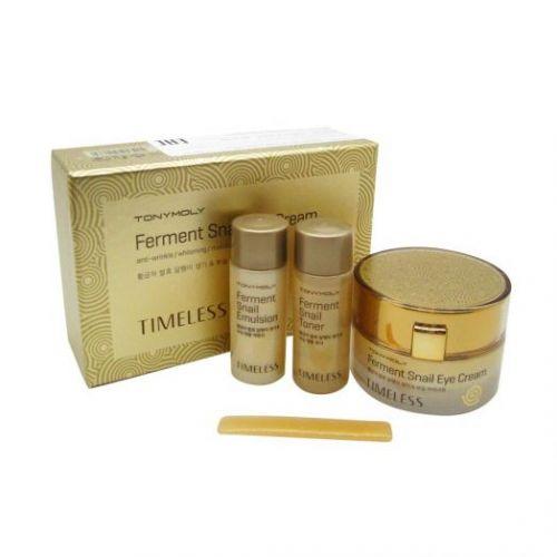 510664-1 TONYMOLY Антивозрастной крем для кожи вокруг глаз с муцином улитки TIMELESS Ferment Snail Eye Cream