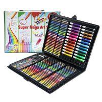 Набор для рисования в чемоданчике Super Mega Art Set 168 предметов, цвет черный