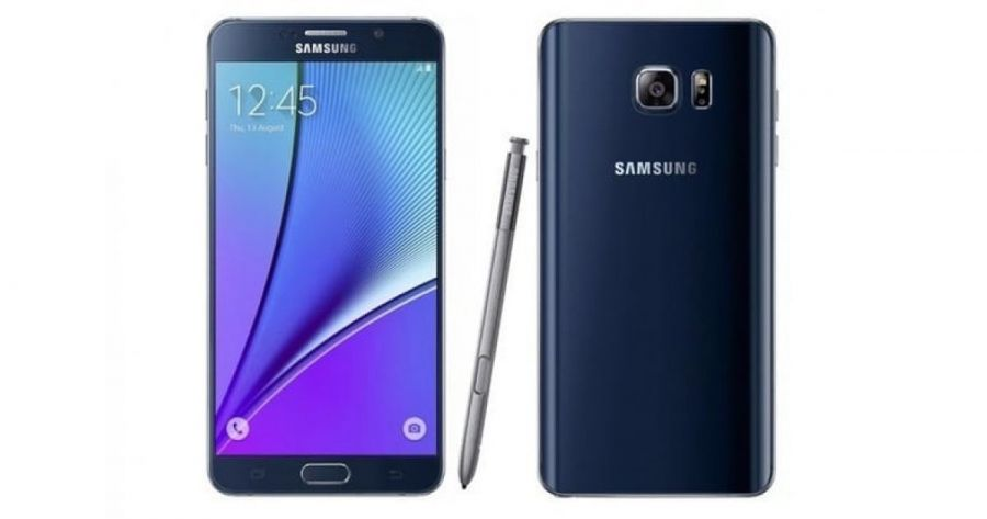 Смартфон Samsung Galaxy Note 5 32GB LTE Black
