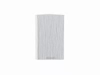 Шкаф верхний торцевой Валерия ВТ230 в цвете серый металлик дождь