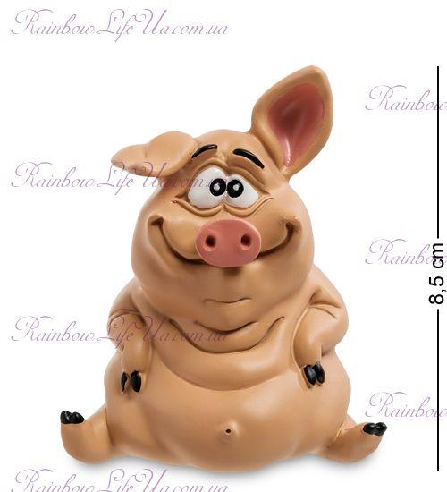 """Фигурка свинка Везунчик """"Warren Stratford"""""""