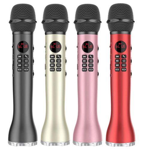 Беспроводной караоке микрофон L-598 Bluetooth с функцией записи