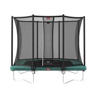 Батут BERG Ultim Favorit Regular 280 Green + Safety Net Comfort