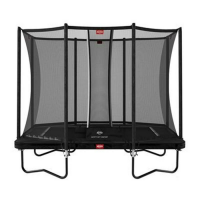 Батут BERG Ultim Favorit Regular 280 Black + Safety Net Comfort