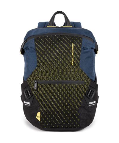 Рюкзак мужской городской Piquadro CA5116PQY/BLG сине-желтый
