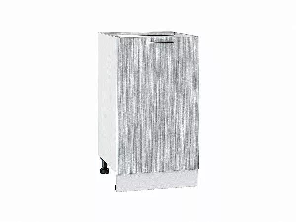 Шкаф нижний Валерия Н450 (серый металлик дождь)