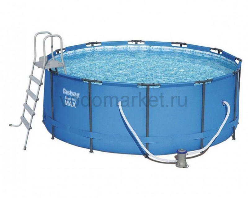366x133 см (15427) Bestway каркасный бассейн