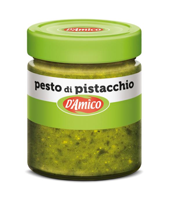 Песто фисташковое 130 г, Pesto di pistacchio, D'Amico 130 gr
