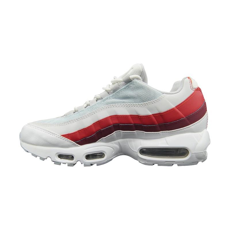 Кроссовки Nike Air Max 95 серо-красные