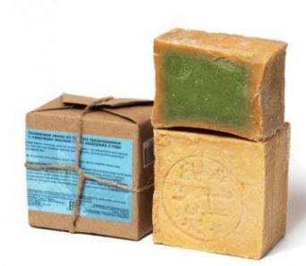 Настоящее Аллепское оливковое мыло с лавровым маслом (20%), 200гр