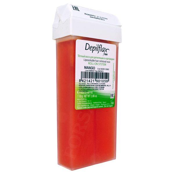 Воск в картриджах DepilFlax Mango, (Манго) 110 г