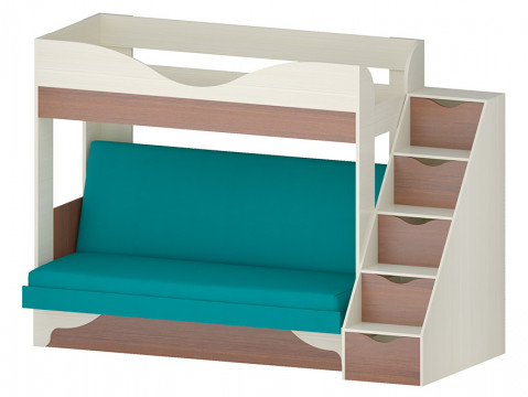 Кровать с диваном Латте