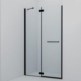 Душевая дверь распашная, черный ал. проф., 120х195, Slide, IDDIS, SLI6BH2i69