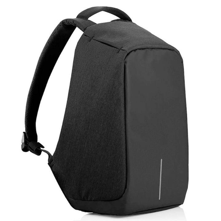 Рюкзак Антивор с USB, цвет черный оснащен надежной защитой от воров.