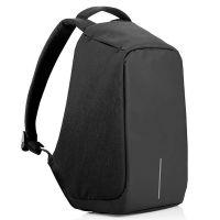 Рюкзак Антивор с USB, цвет черный
