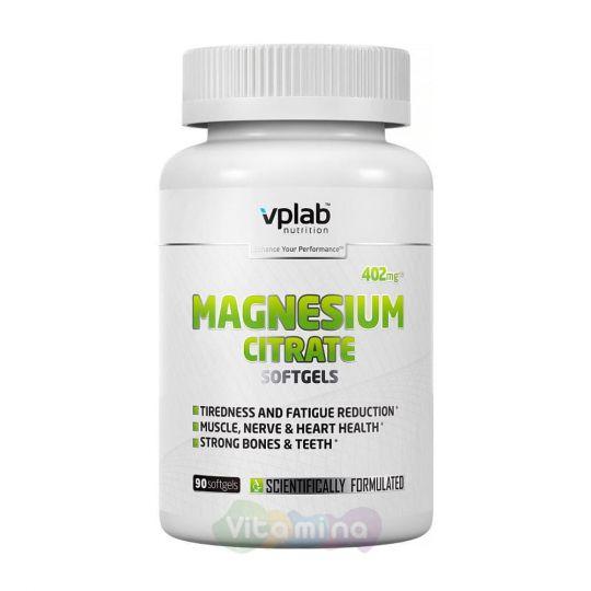 VPLab Цитрат магния Magnesium Citrate, 90 капс.