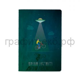 Тетрадь А5 40л.кл.BrunoVisconti НЛО 7-40-001/80