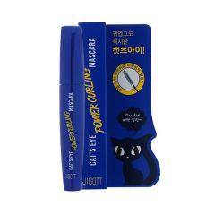 280085 JIGOTT Тушь для ресниц подкручивающая Cat`s Eye Power Curling Mascara