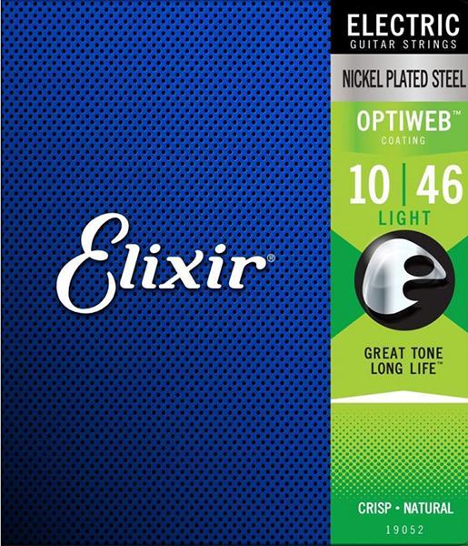 ELIXIR 19052 OPTIWEB (10-46) Струны для электрогитары