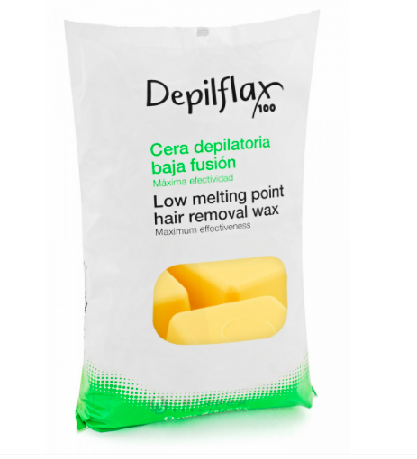 DepilFlax Горячий Воск Для Депиляции Натуральный, 1000г