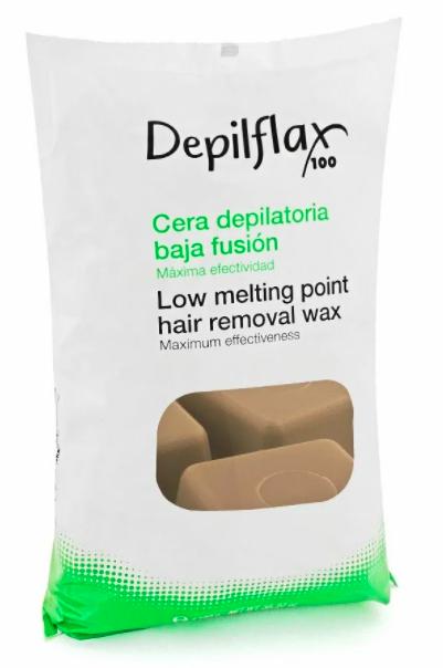 DepilFlax Горячий Воск Для Депиляции (Шоколад) 1000г