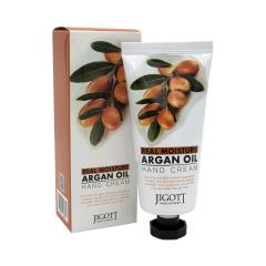 280771 JIGOTT Увлажняющий крем для рук с аргановым маслом Real Moisture Argan Oil Hand Cream