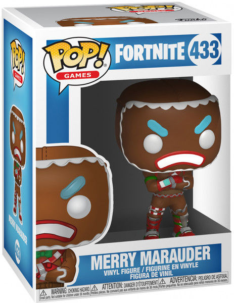 Фигурка Funko POP! Vinyl: Games: Fortnite: Merry Marauder 34880