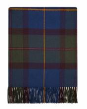 Теплая шаль  100 % стопроцентная шотландская овечья шерсть, (тартан) клана МакЛауд (старинный вариант)  MACLEOD OF HARRIS ANTIQUE , плотность 6
