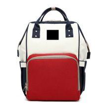 Сумка-рюкзак для мамы Mummy Bag, Синий-белый-красный