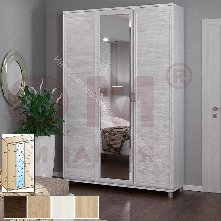Шкаф ШК-2801 для одежды и белья Мелисса