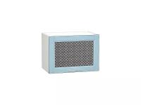 Шкаф верхний горизонтальный с увеличенной глубиной Сканди ВГ510 со стеклом Sky Wood