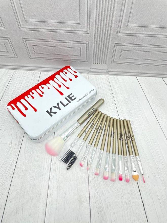 Набор кистей Kylie (белая) 12 штук (1361801)