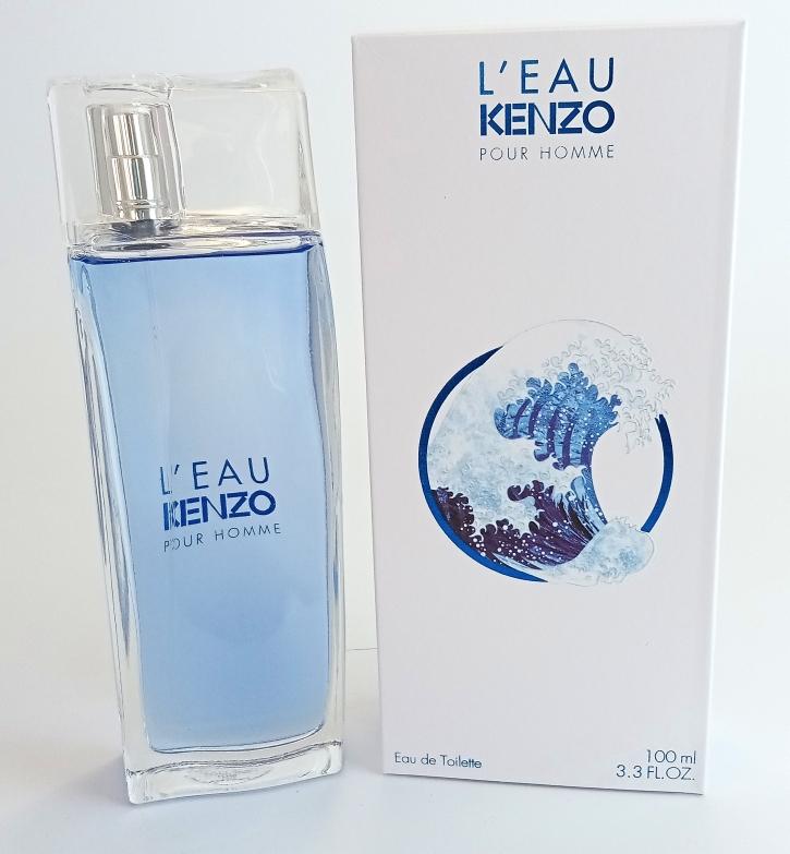 Kenzo L`eau Kenzo Pour Homme Eau de Toilette NEW 100 мл (EURO)